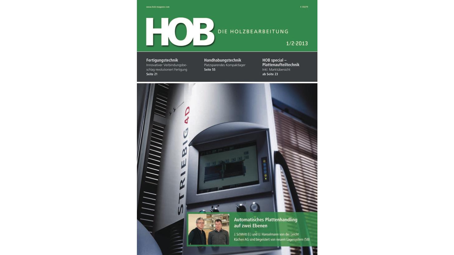 Logo HOB Die Holzbearbeitung