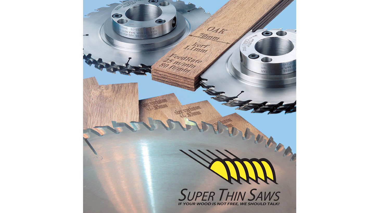 Logo KerfSlicer splitting saws for Flooring Production