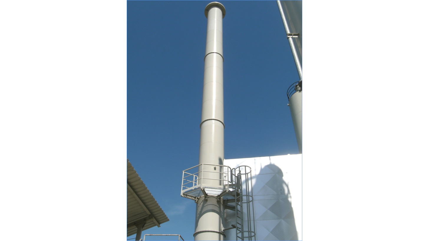 Logo Steel chimneys