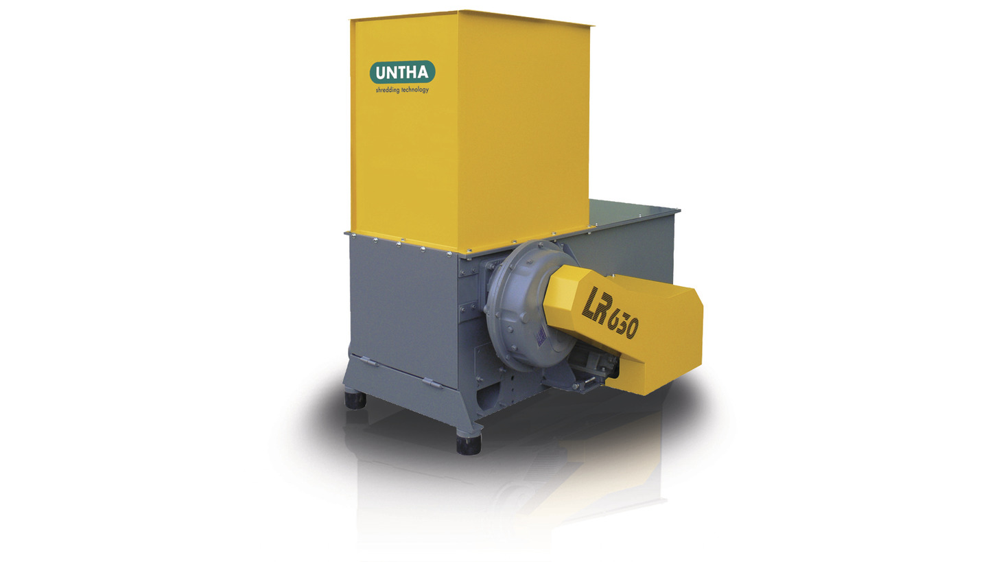 Logo LR630 wood shredder