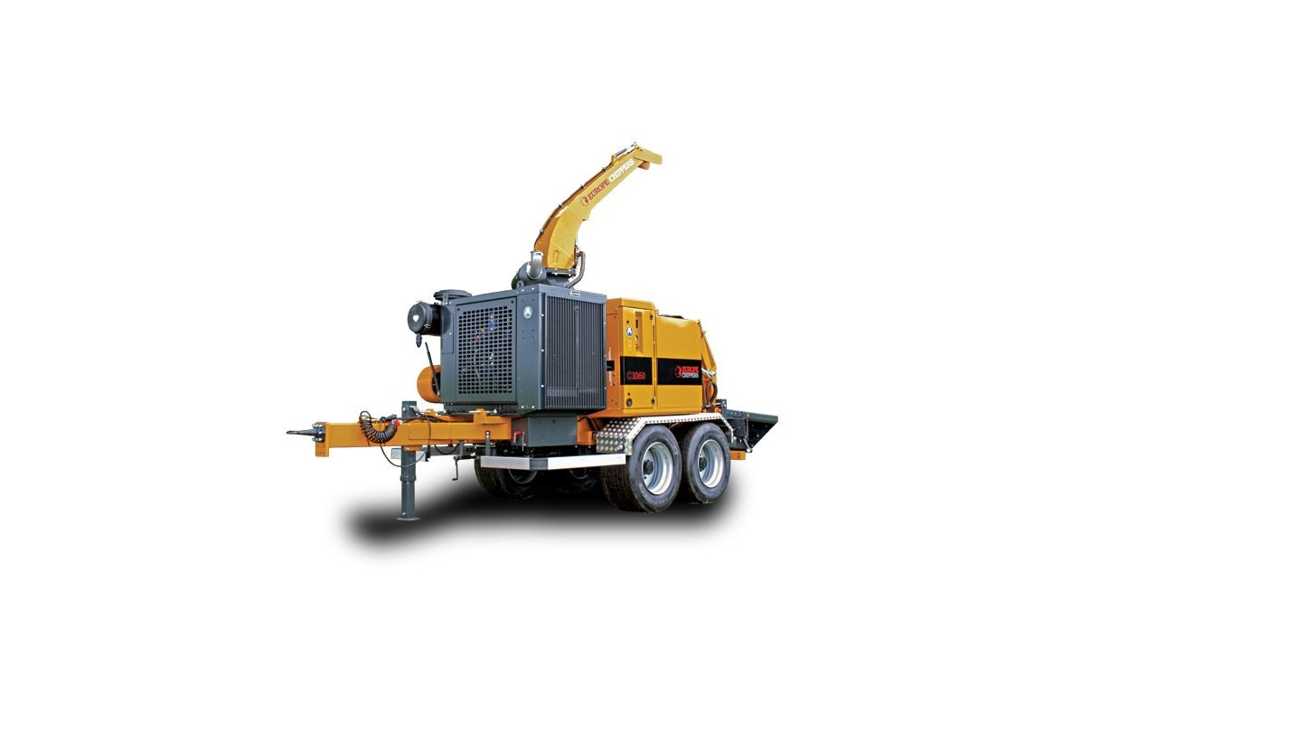 Logo The C1060 woodchipper
