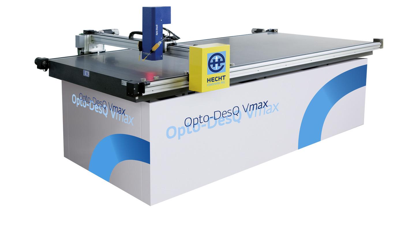 Logo OptoDesQ Vmax - measurement table