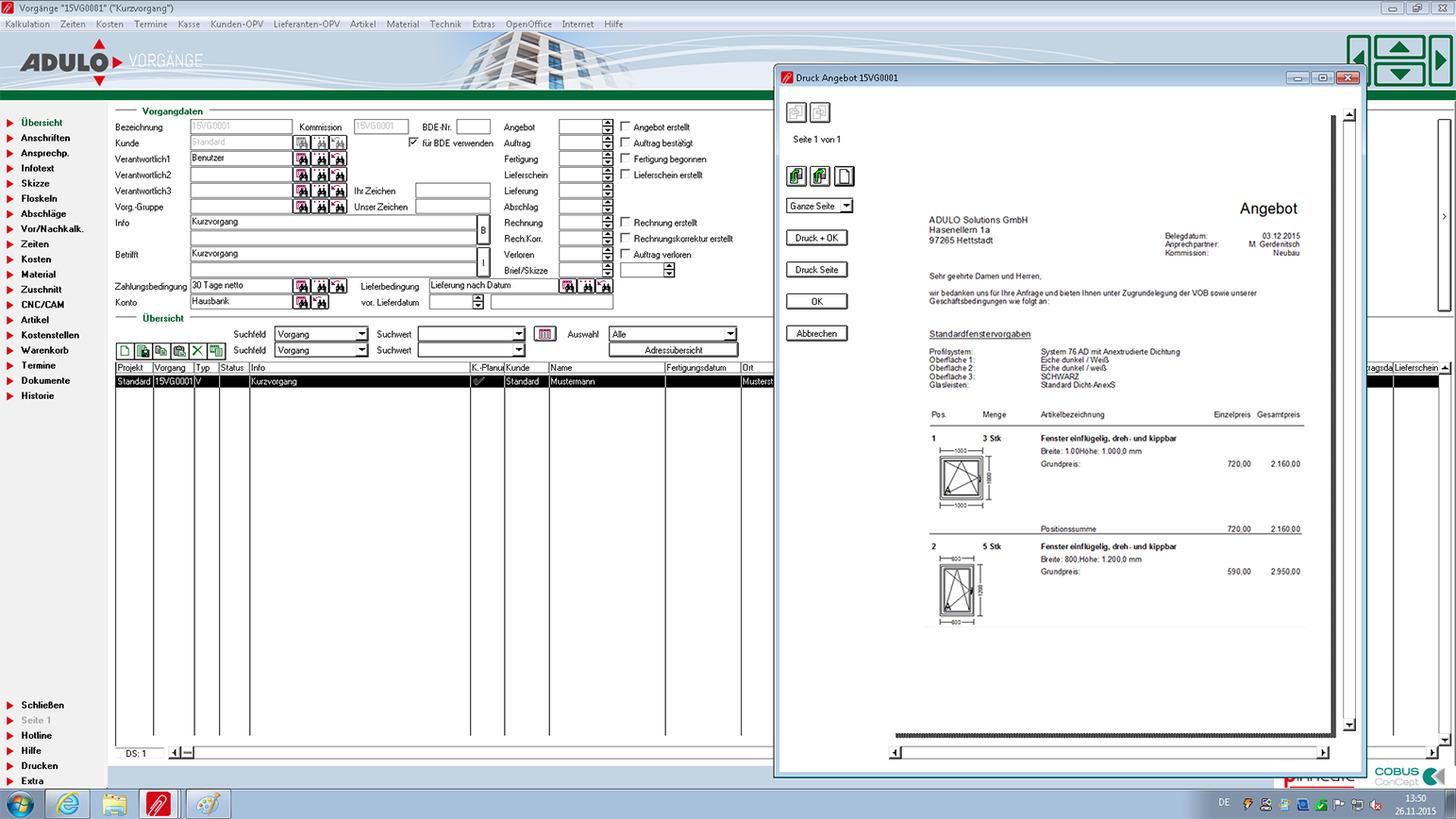 Adulo Plus Bau Produkt Ligna 2017