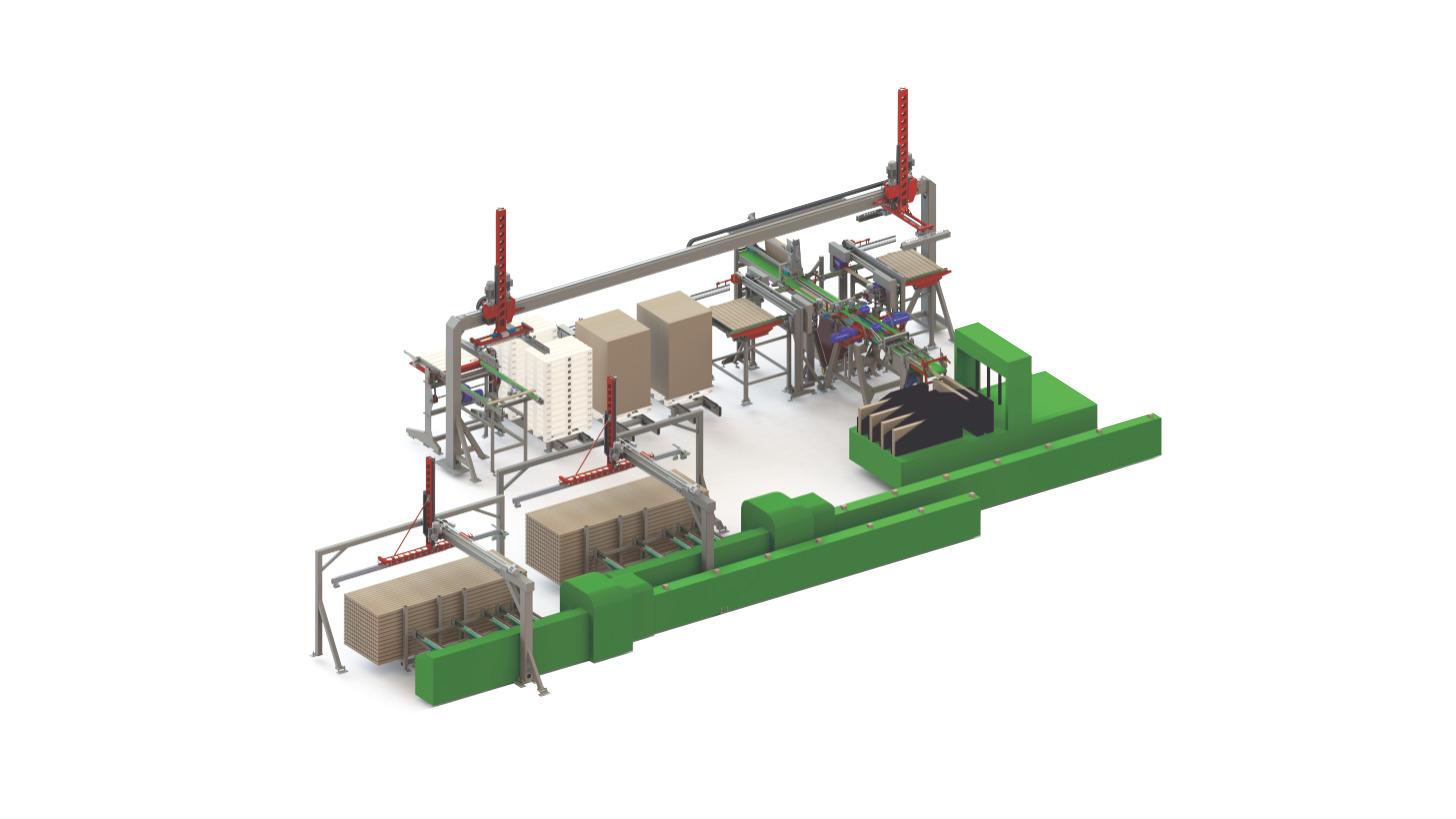 Logo Pallet production line mechanisations