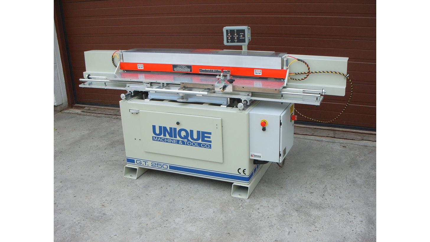 Logo UNIQUE Raised Panel Door Machine 250GT-2
