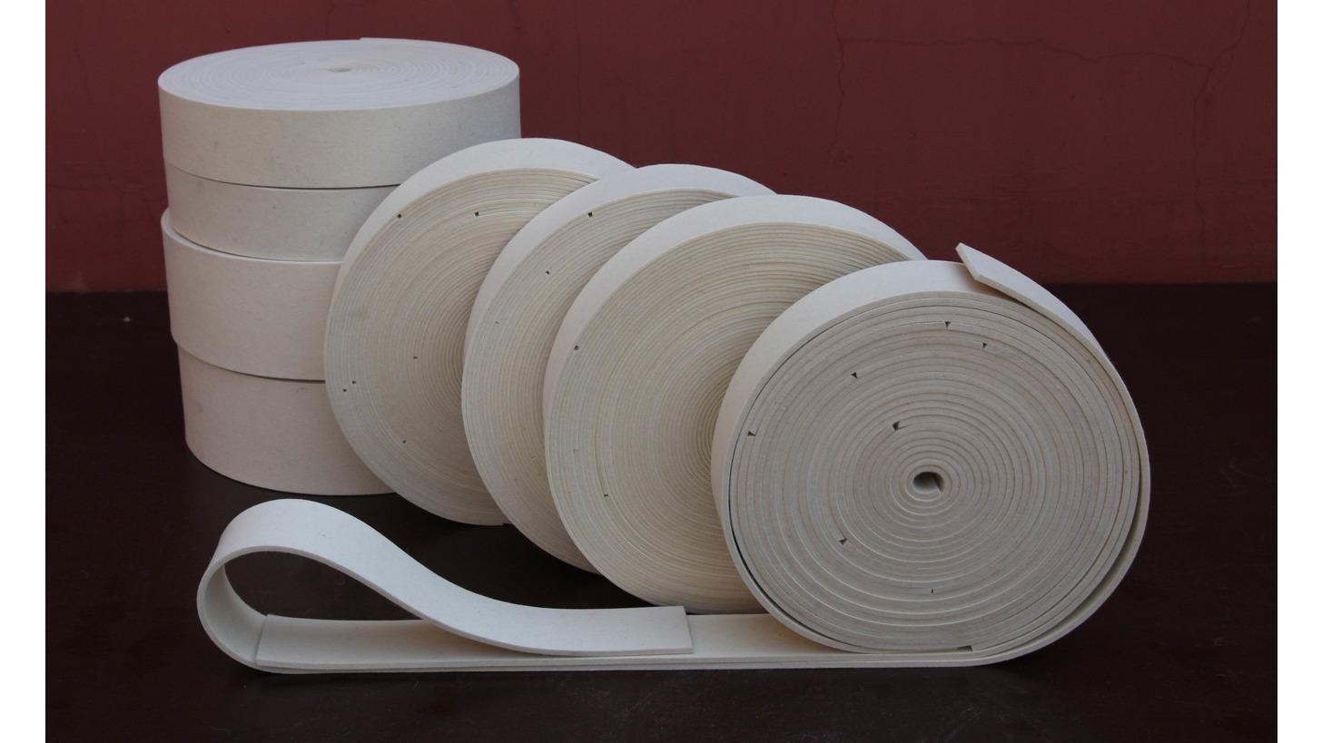 Logo Wool Belts