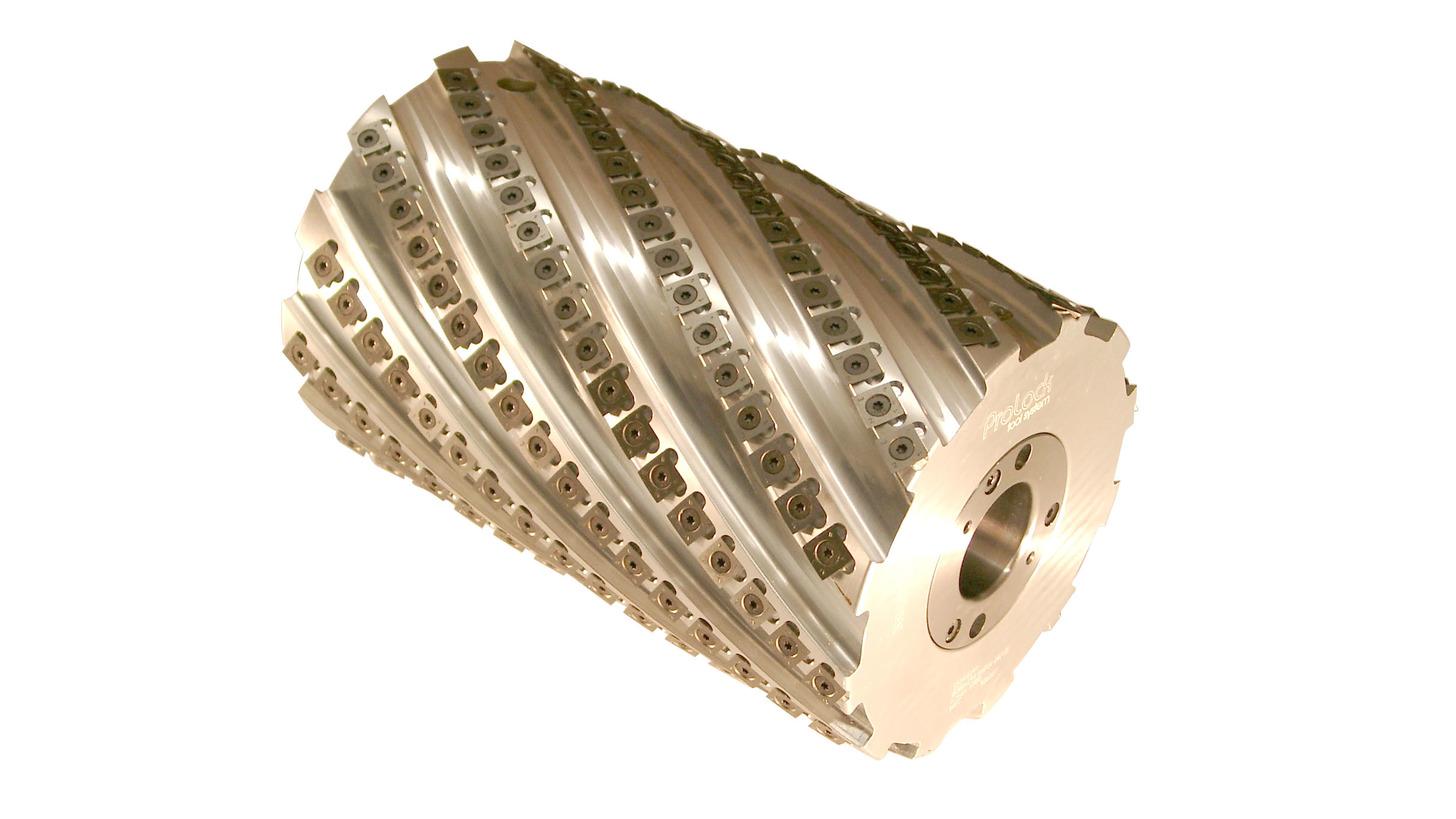 Logo SPIRAX-Helicoidal planing cutterhead