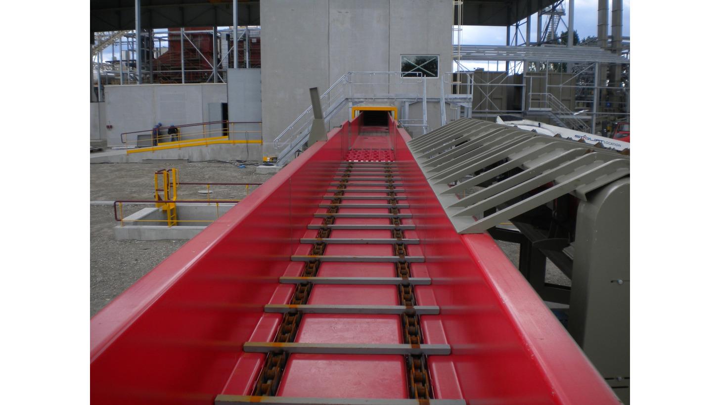 Logo Chain Conveyor - TCG 2T