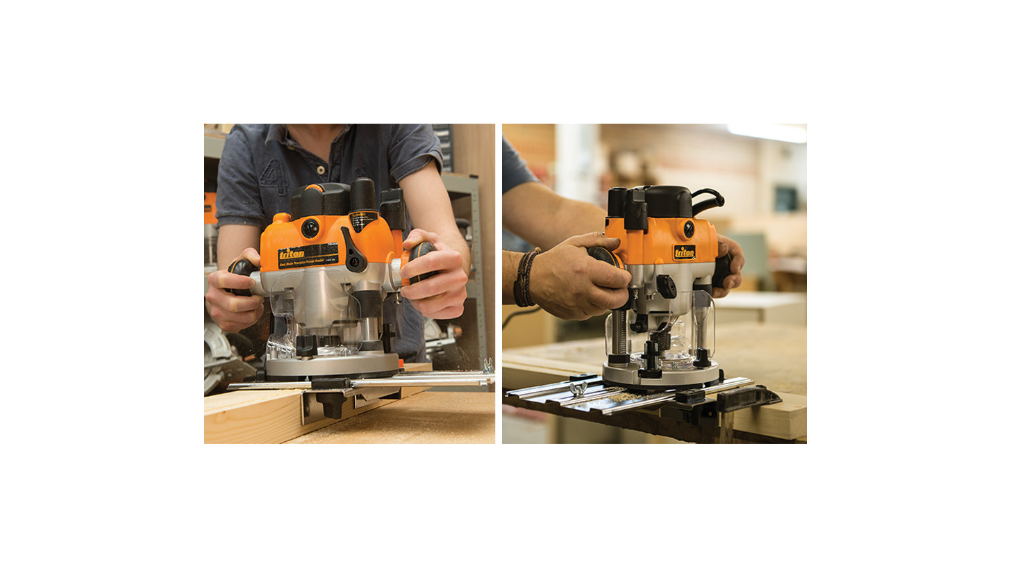 Logo Dual Mode Precision Plunge Router 1400W