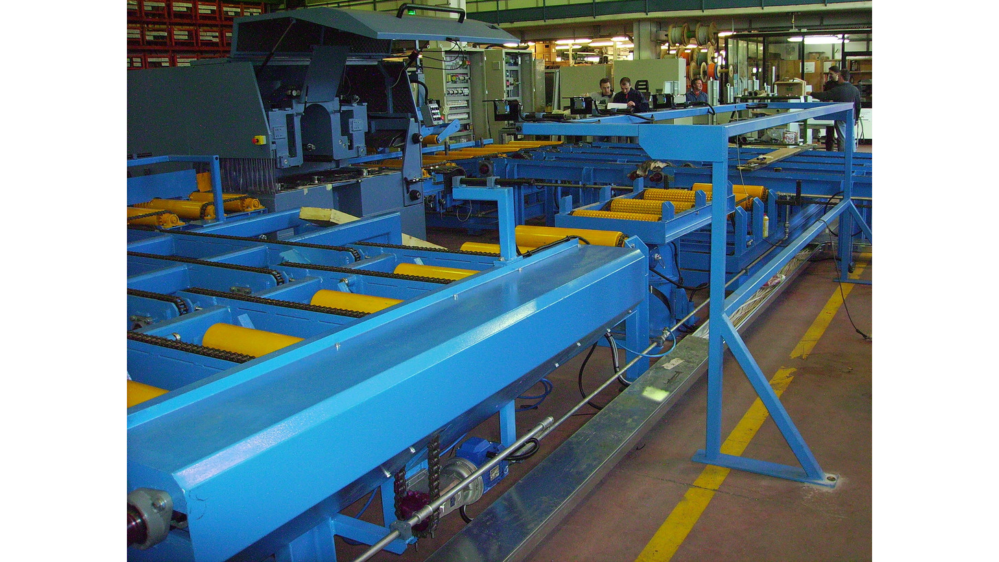 Logo Conveyors for sawn timber (roller conveyors/crosstransfer units,etc.)
