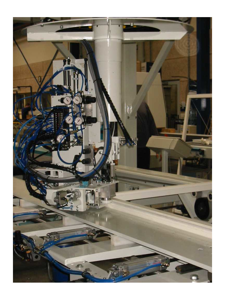 Logo Gasket inserting machine for windows and doors