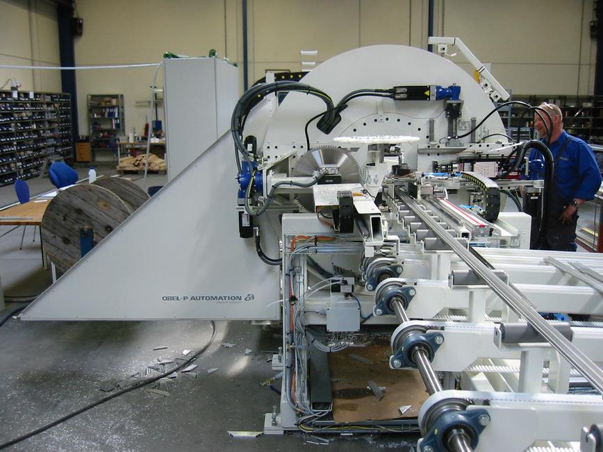 Logo Aluminium cutting and machining center