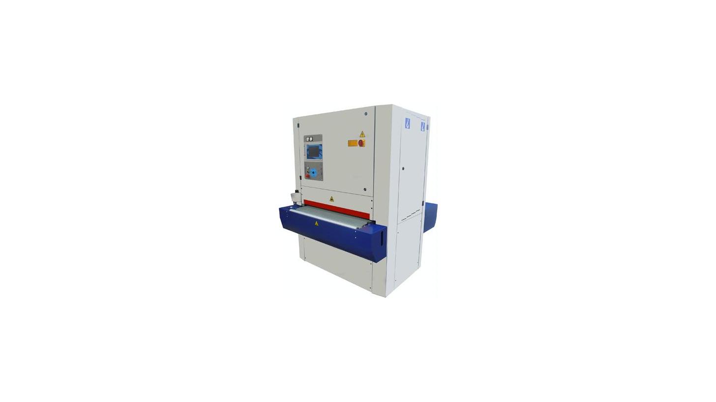 "Logo Wide belt calibrating sanding machines ""EXPLORER 1100 / SUPER"""