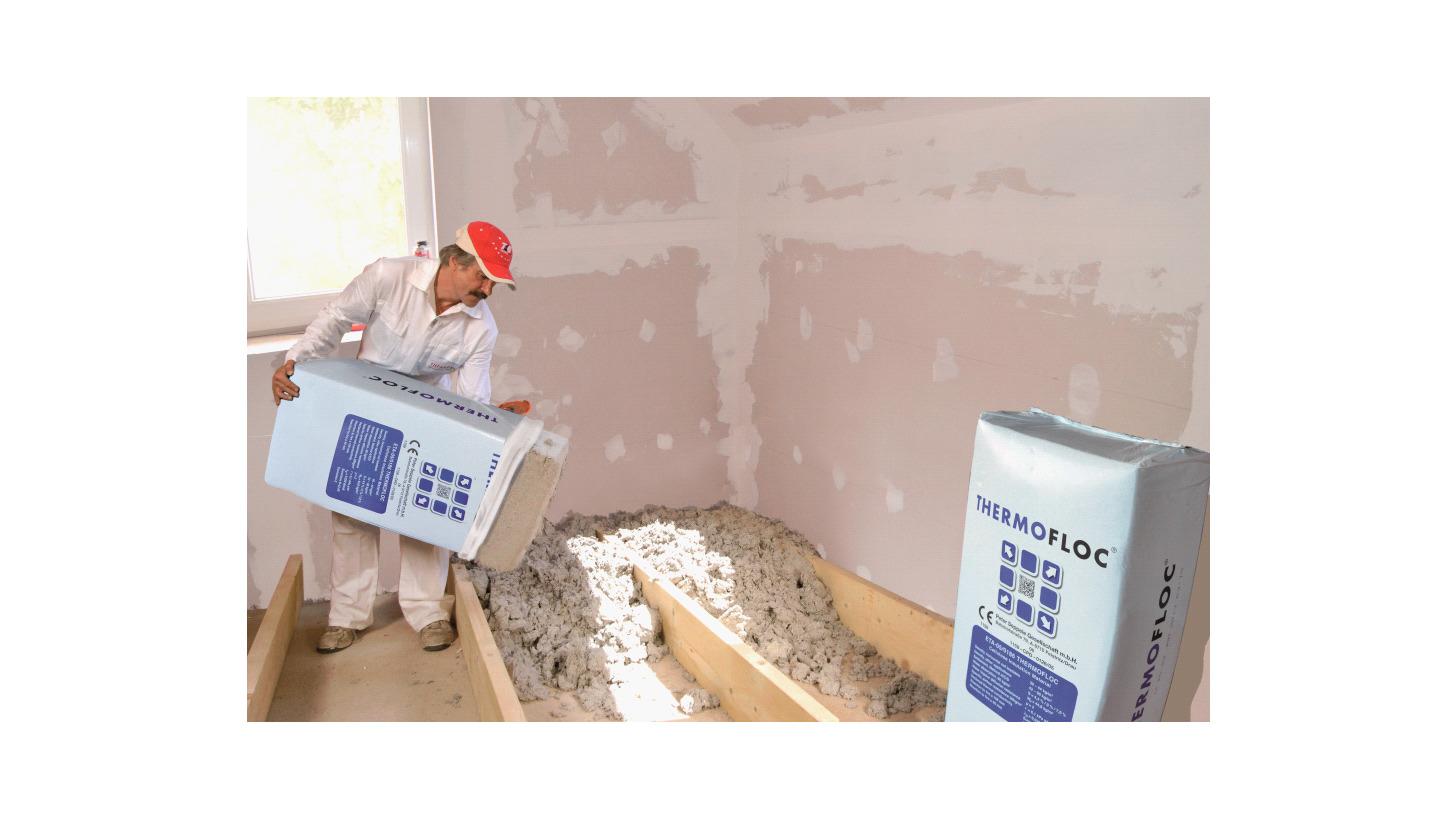 Logo THERMOFLOC Cellulose insulation