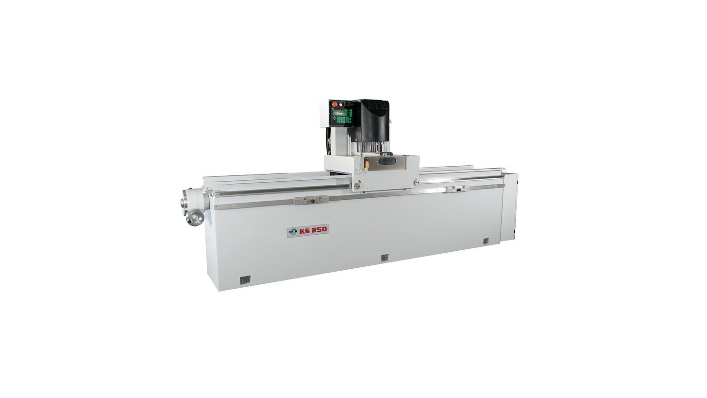 Logo KS 250 professional sharpening and grinding machine