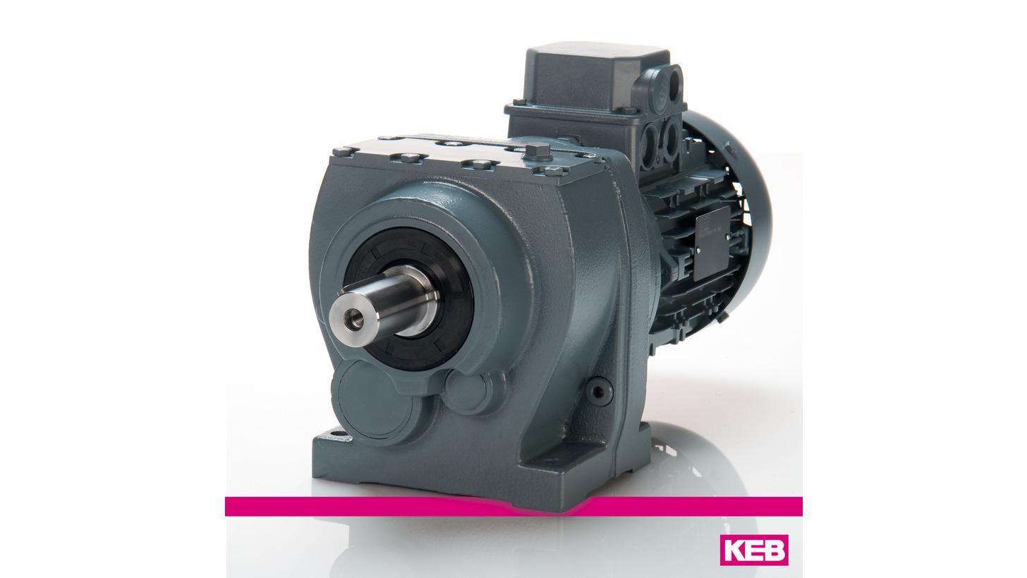Logo KEB COMBIGEAR G und ZG - Stirnradgetriebemotoren