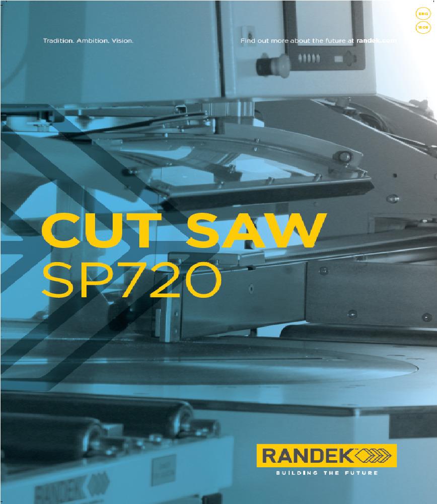 Logo Zuschnittsäge und Abbundmaschine SP720
