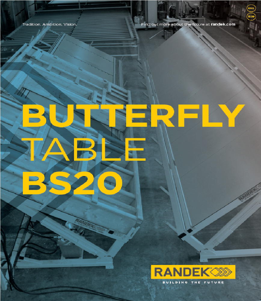 Logo Butterfly Table - BS20