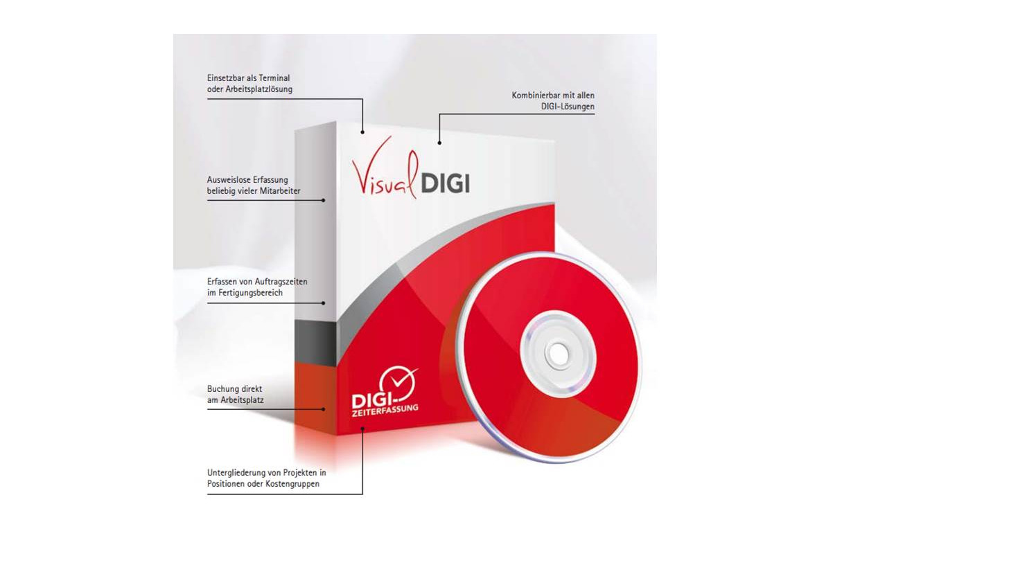 Logo VISUAL-DIGI und EVO III