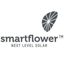 smartflower logo next level solar battery
