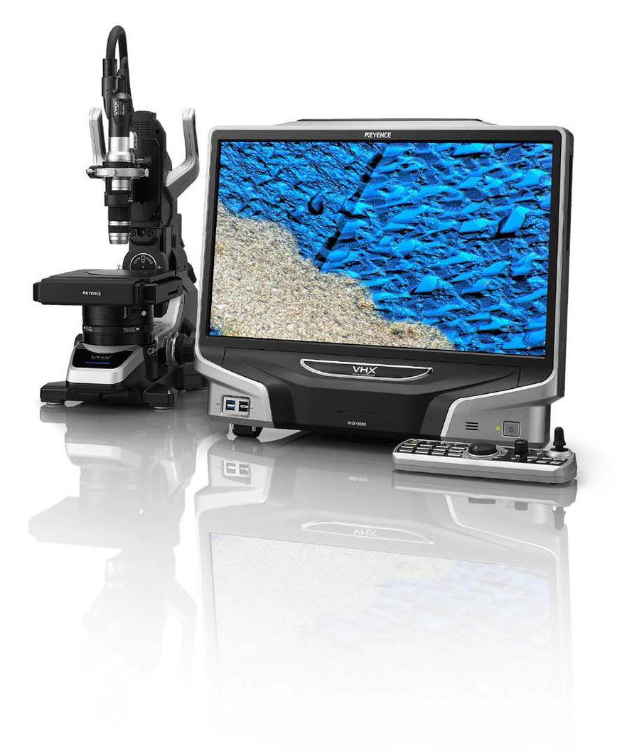 Logo Digital Microscope VHX-5000 series