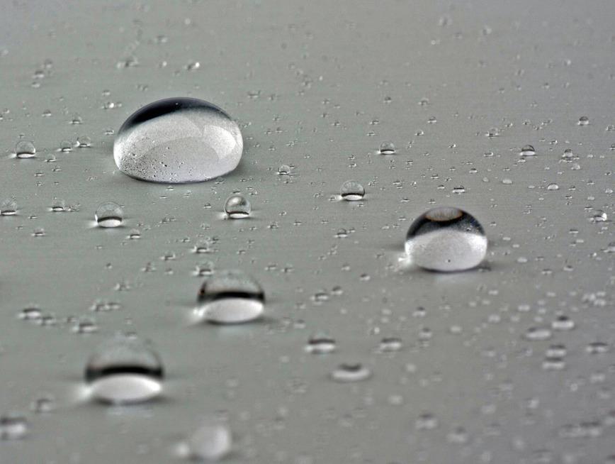 Logo hydrophile oder hydrophobe Nano-Coatings