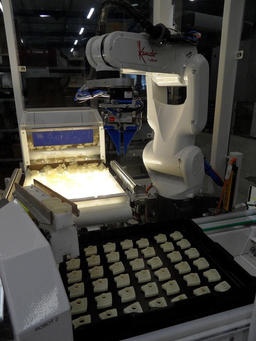 Logo KAMIDO 3D BIN-PICKING ROBOT