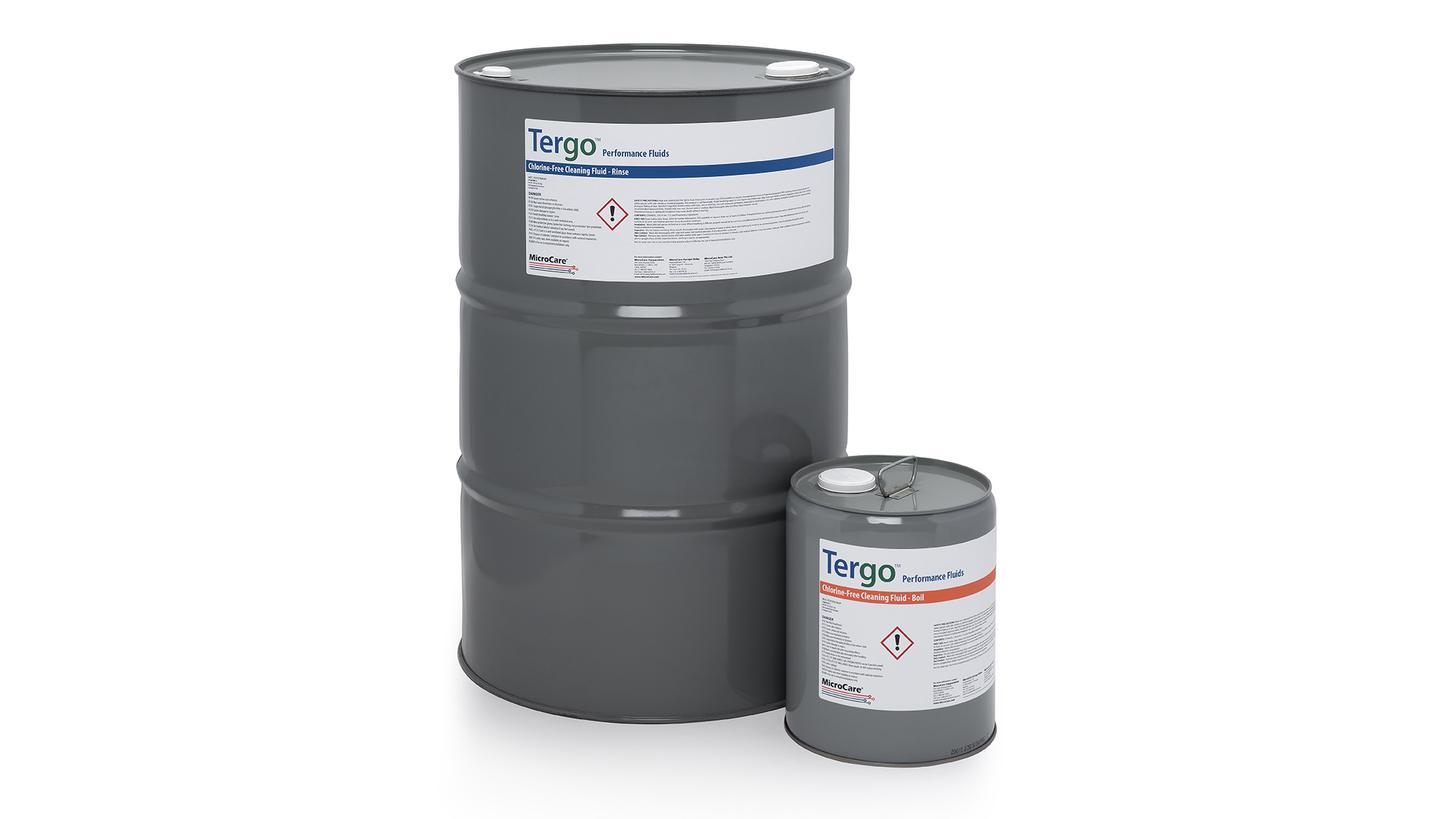 Logo Tergo(TM) Chlorine Free Cleaning Fluid