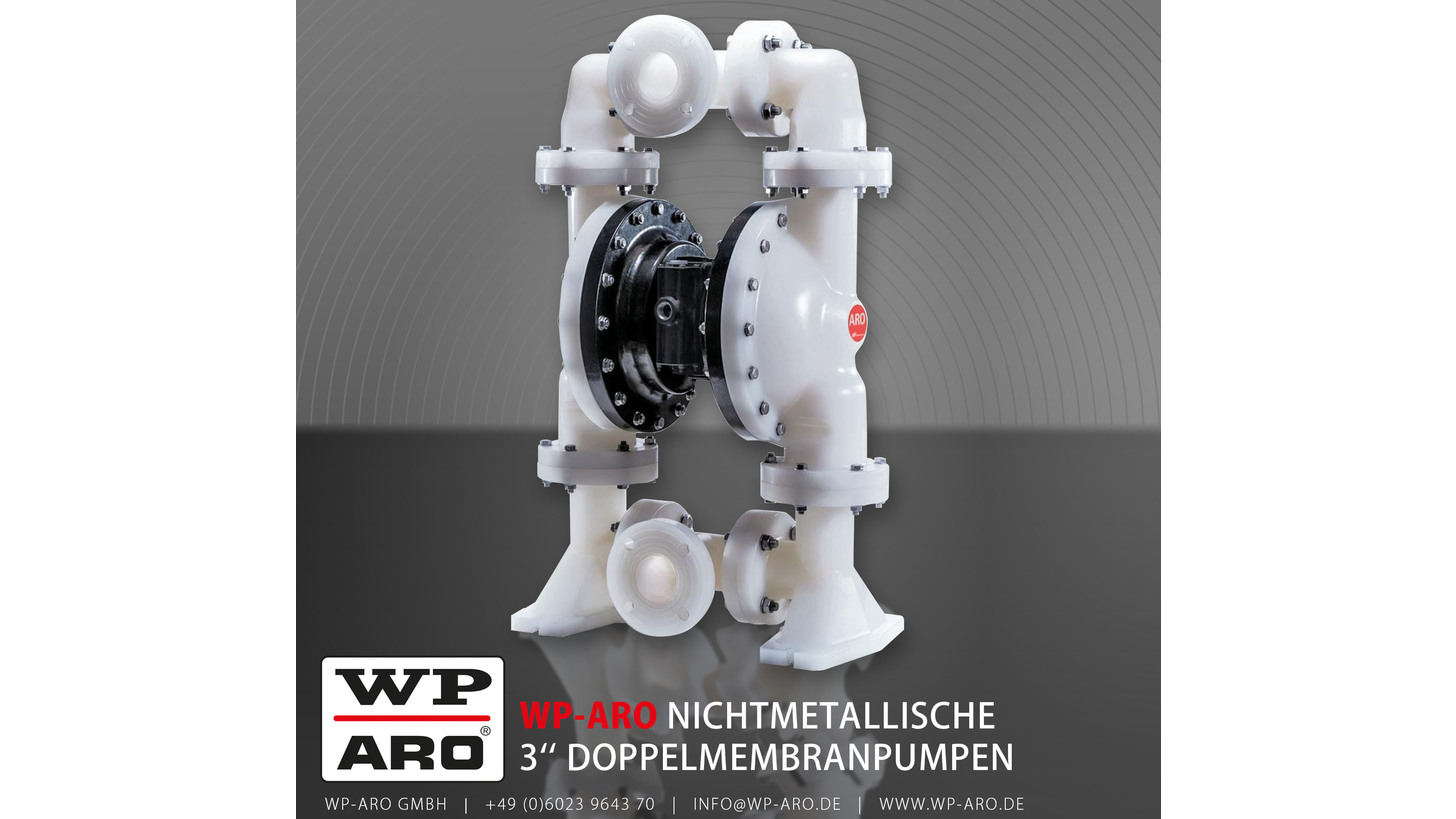 Logo ARO® 3'' Doppelmembranpumpen