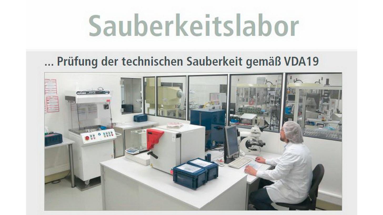 Logo Sauberraum - Technische Sauberkeit