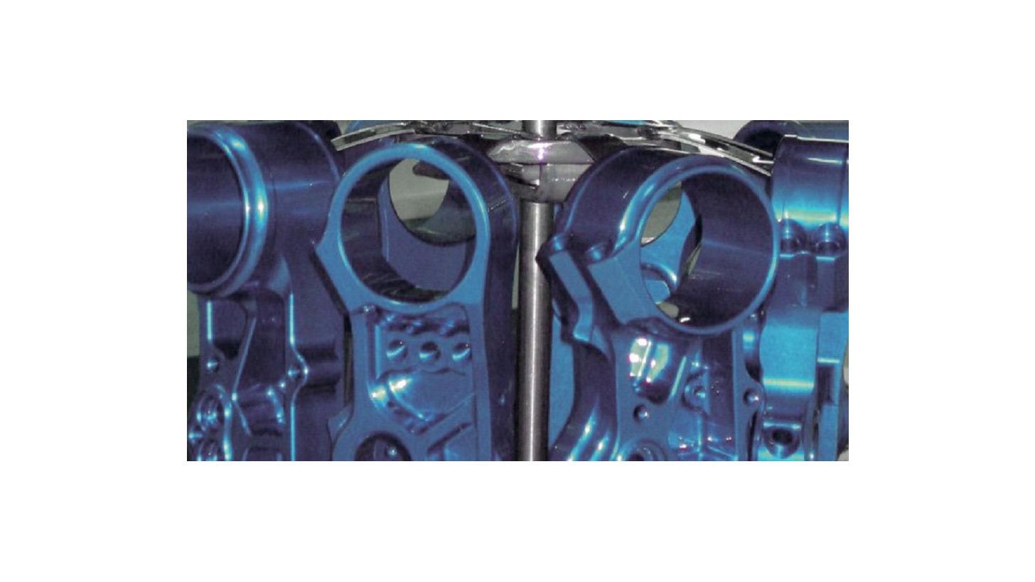 Logo Electroplating technology