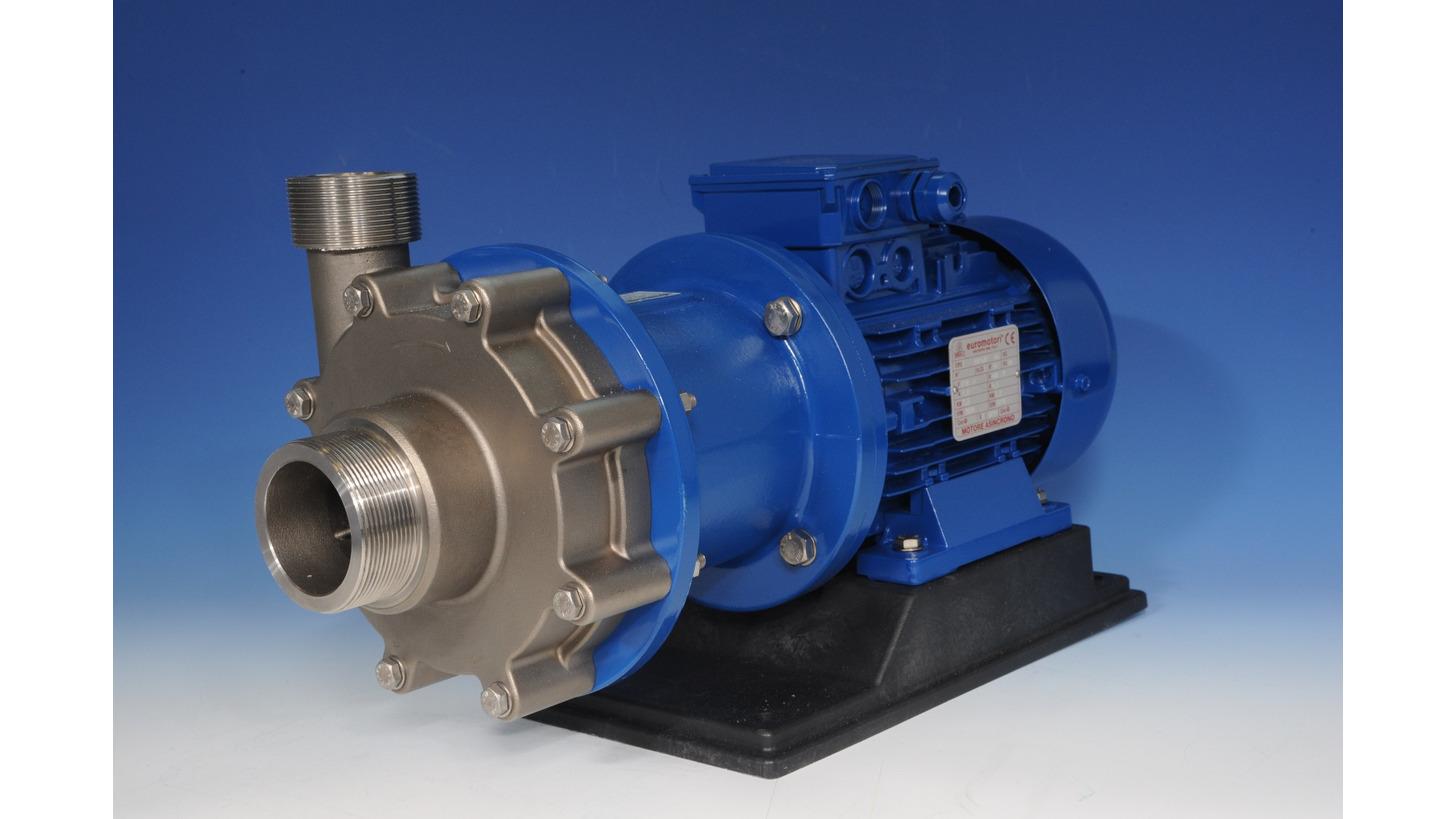 Logo Mag drive centrifugal pumps HTM SS316