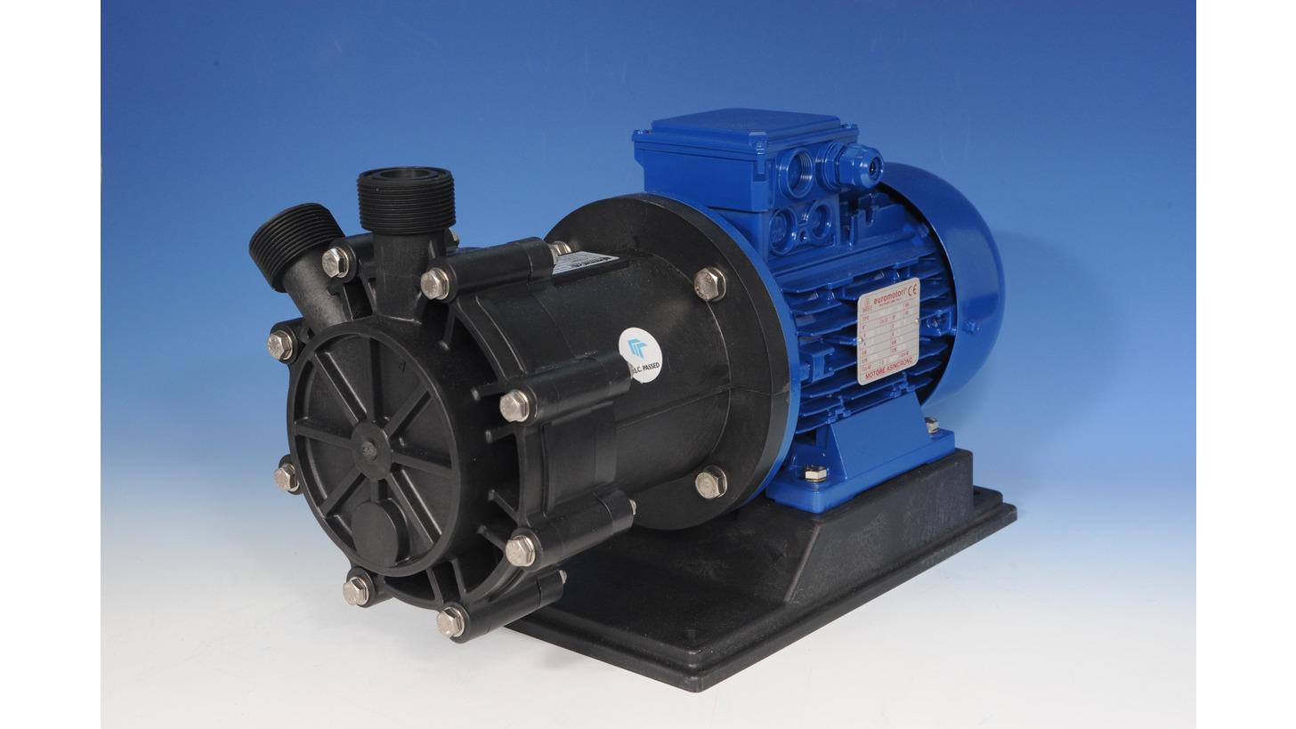 Logo Mag drive turbine pumps series HTT PP/PV
