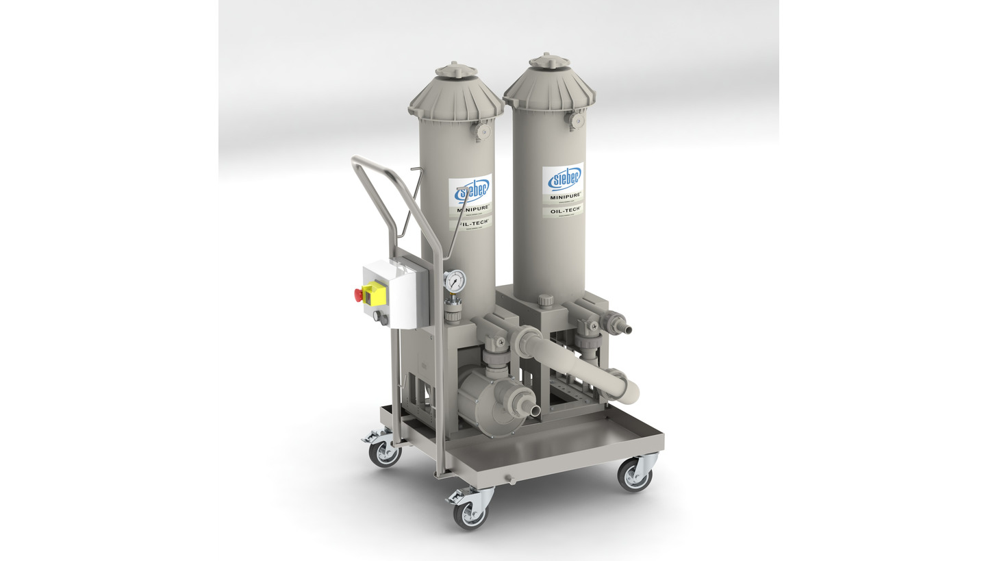 Logo MINIPURE® STATION FOR THE TREATMENT OF CUTTING  AND PROCESS FLUIDS