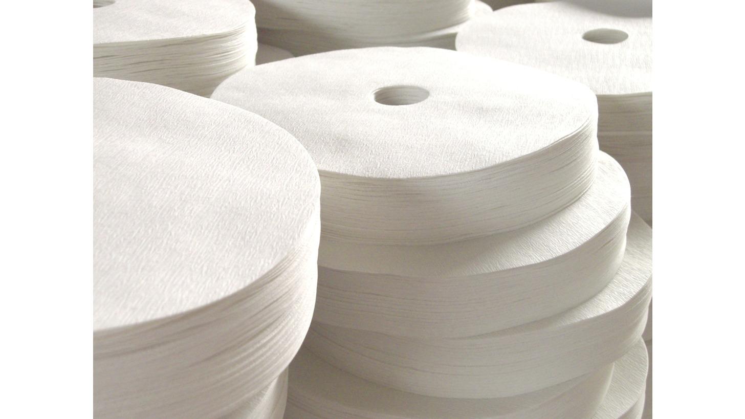 Logo Paper Filter Disc Media