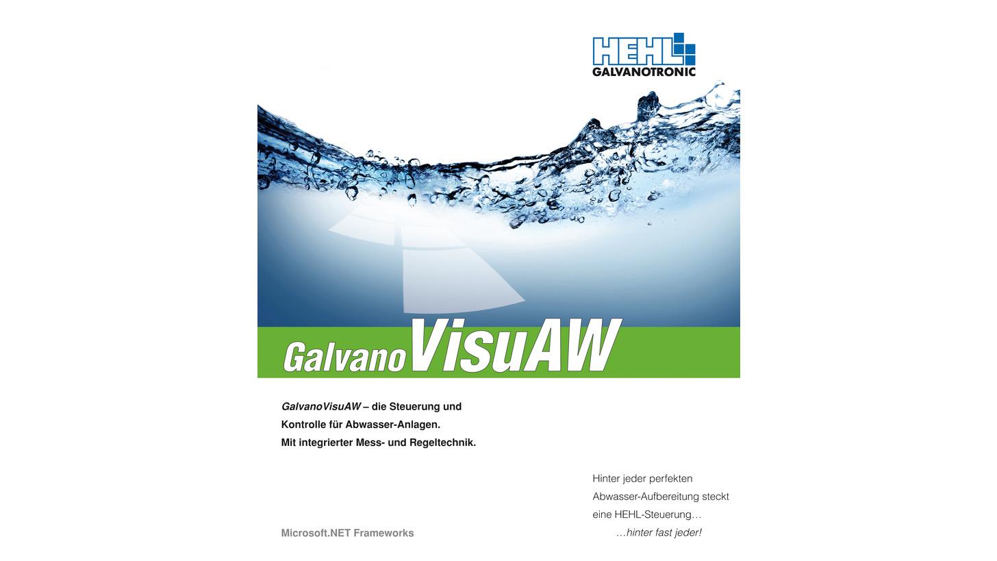 Logo GalvanoVisu AW / HEHL GALVANOTRONIC