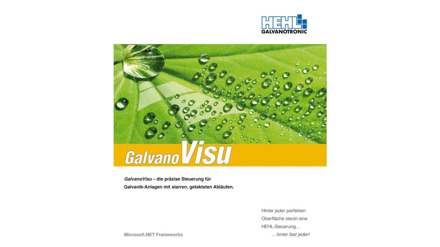 Logo GalvanoVisu / HEHL GALVANOTRONIC