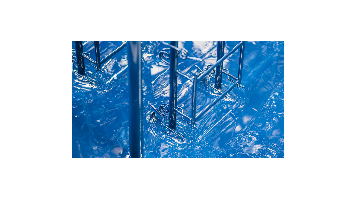 Logo PVC Beschichtung Isofan ® SQ Blau