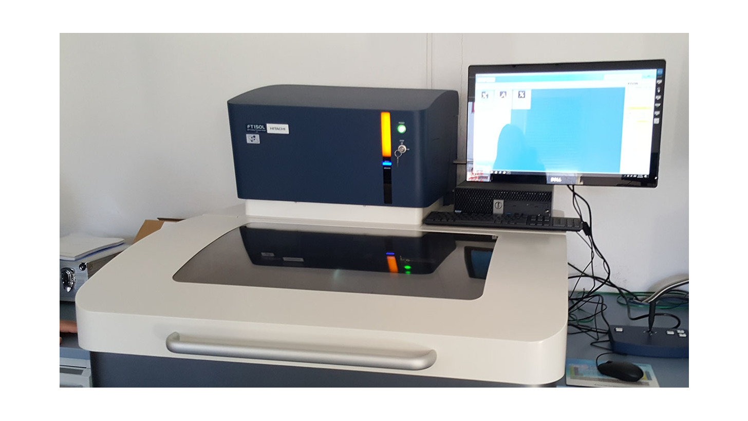 Logo FT150 - XRF Coating thickness analyser